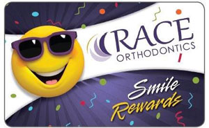 Smile Rewards Card at Race Orthodontics in Brookfield Mukwonago WI